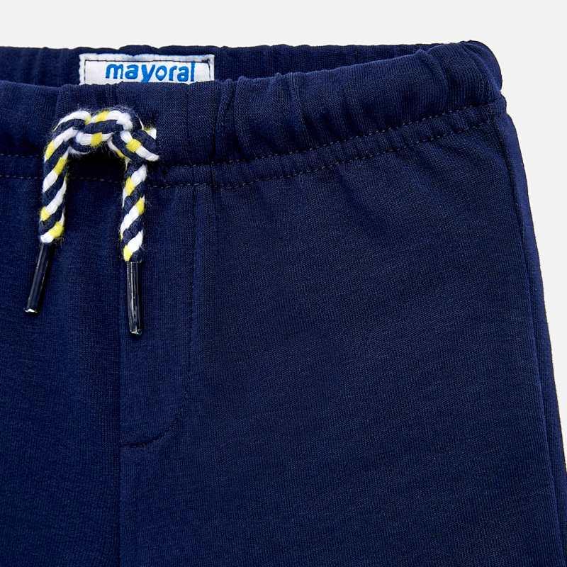 2466146ddad Къс спортен панталон за бебе момче Син - Mayoral
