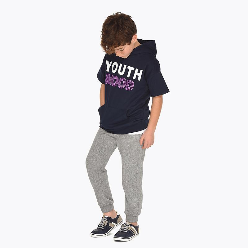 39d24716117 Основен дълъг спортен панталон за момче Олово вигоре - Mayoral