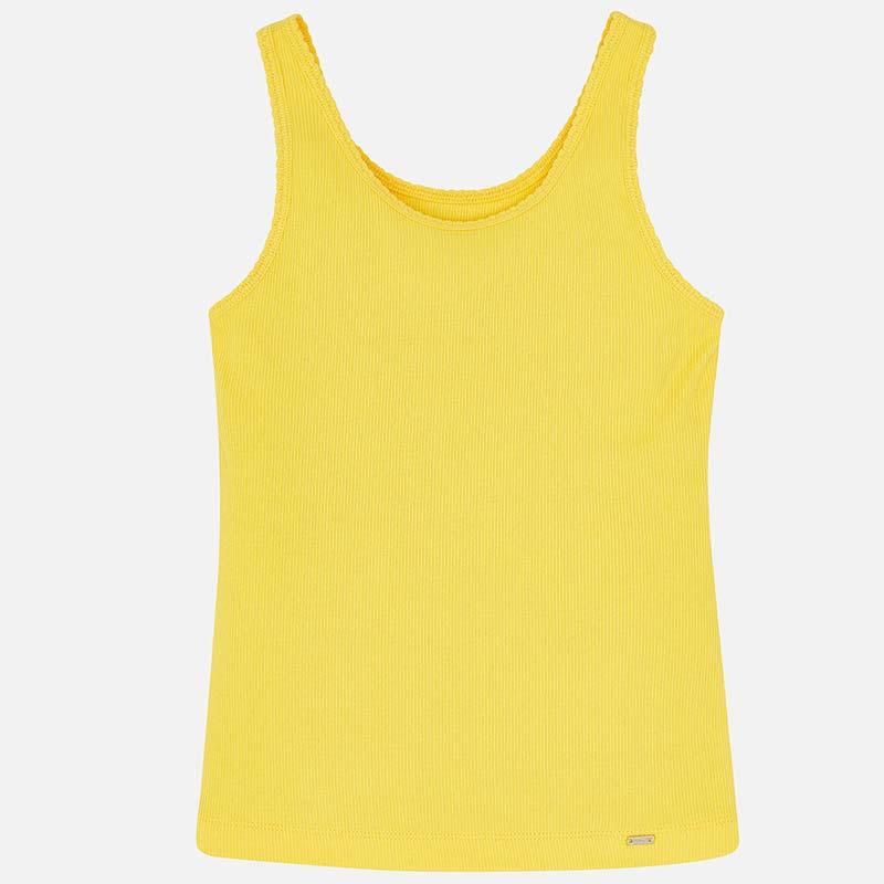 f6be5ad2fd37 Camiseta tirantes básica niña Amarillo - Mayoral