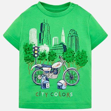 Camiseta manga corta dibujos bebé niño 65b14bc3db792