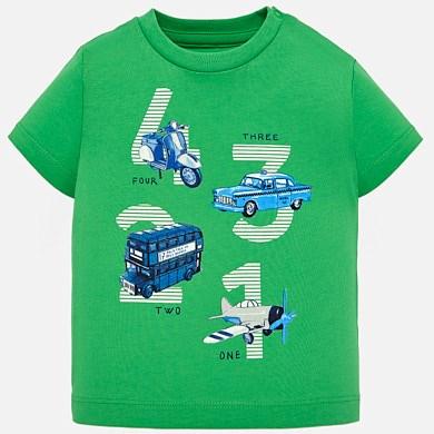 Camiseta manga corta vehículos bebé niño 0d253b40a5272
