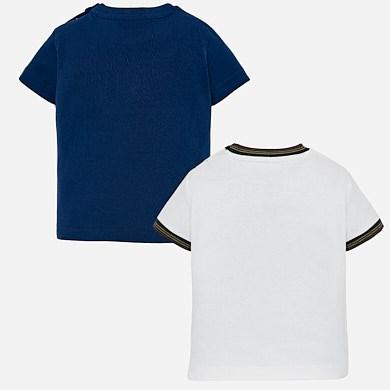 6f4e7c6d3b Set camisolas estampadas bebé menino Steel blue - Mayoral