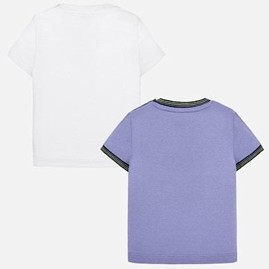1f61940fd6 Set camisolas estampadas bebé menino Lavanda - Mayoral
