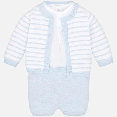 ef270553a Conjunto punto vestir bebé recién nacido Cielo vigoré - Mayoral