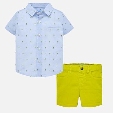 cb55a8b6c79b Σετ πουκάμισο και βερμούδα αντίθεση