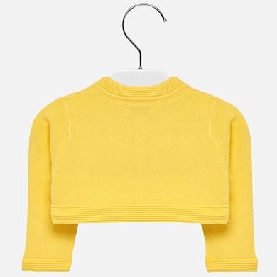 486fd71ad Bolero cardigan for baby girl Yellow - Mayoral