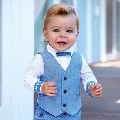 Γιλέκο λινό baby αγόρι 30f3beb1d77