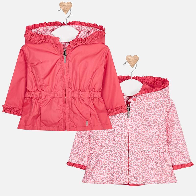 d4a5214df Reversible windbreaker jacket for newborn girl Flamingo - Mayoral