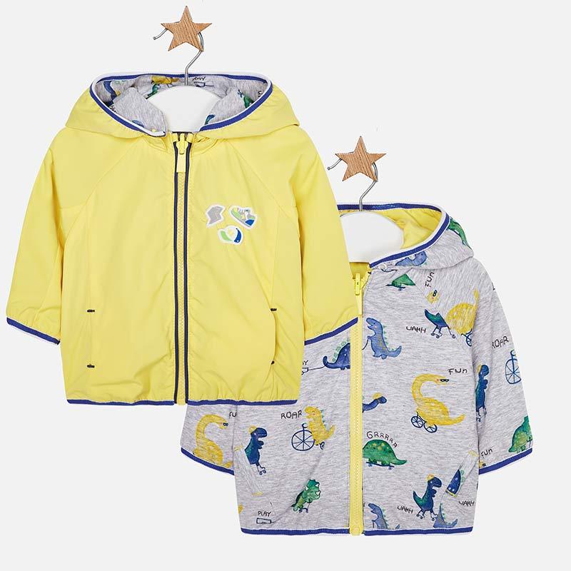 4971ba656 Reversible hooded windbreaker for newborn boy Sunshine - Mayoral