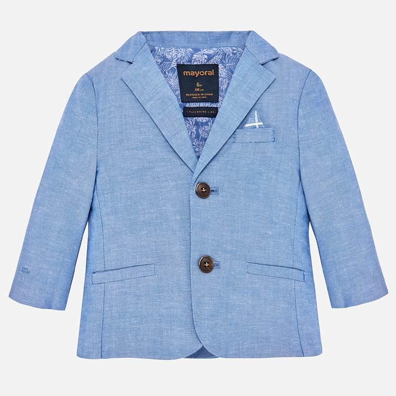 ffadb5b2b7f Linen blazer for baby boy Lavender - Mayoral