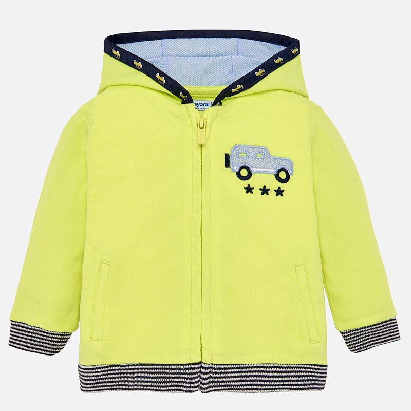 1d8d9e32780 Helicopter fleece sweatshirt for baby boy Neon pineapple - Mayoral
