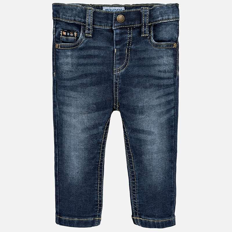 6752f1141dd Παντελόνι τζιν μακρύ slim fit baby αγόρι Τζιν σκούρο - Mayoral