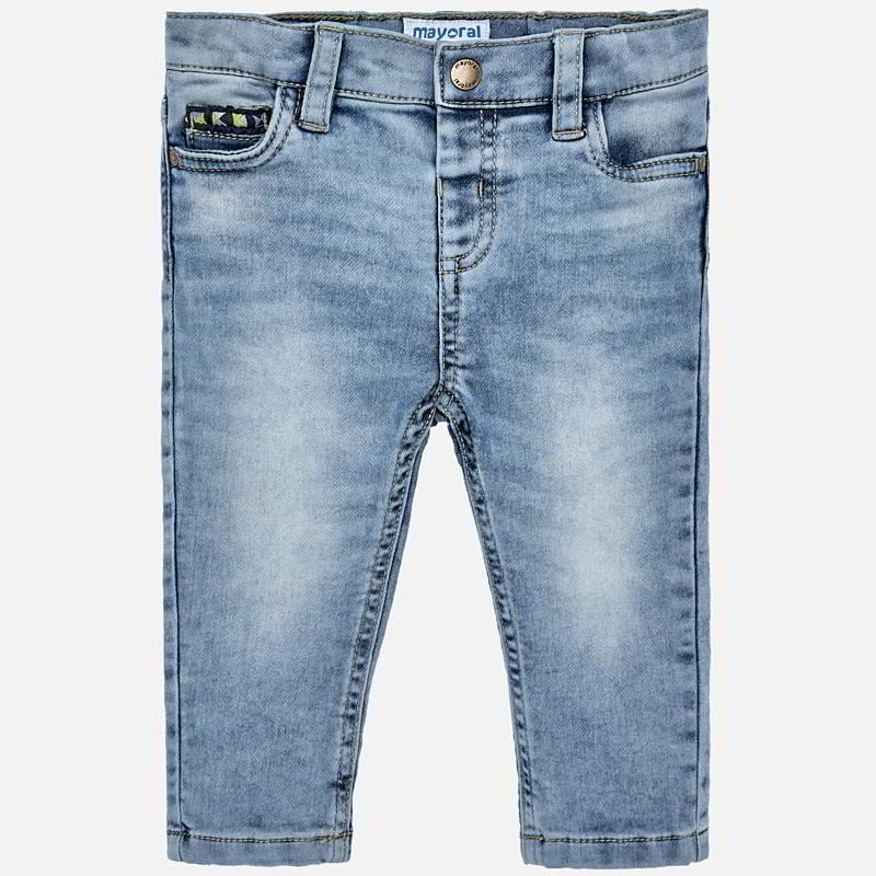 Pantalone jeans slim fit bambino Jeans Chiaro
