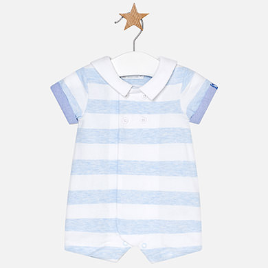 Φορμάκι κοντό ριγέ νεογέννητο αγόρι 520252291bd