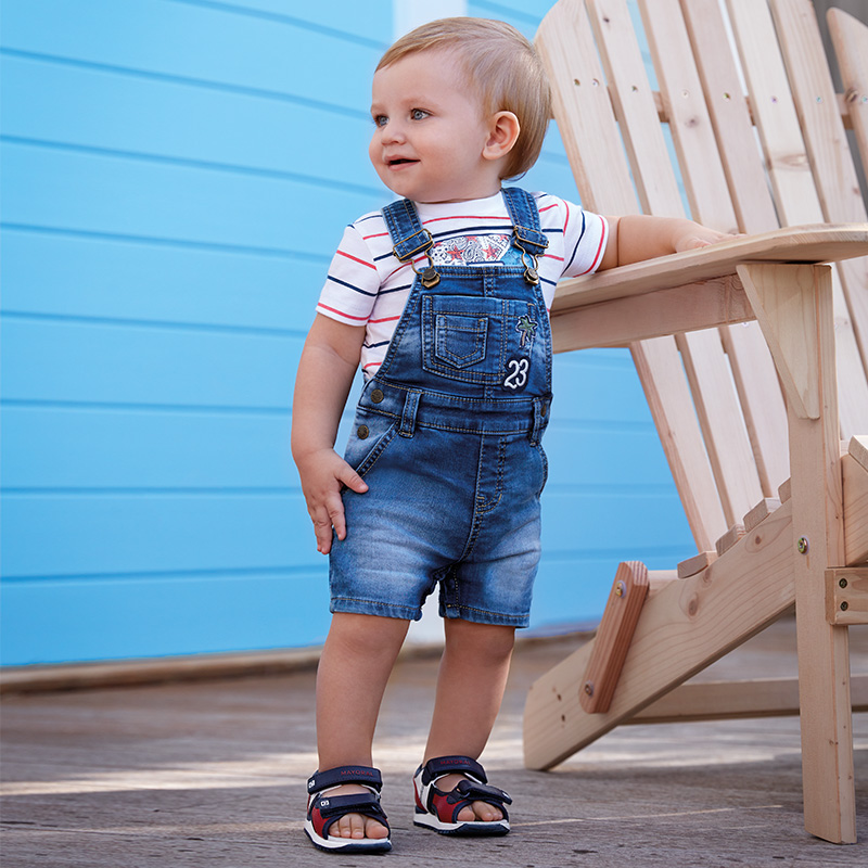 Salopette jeans bambino Jeans