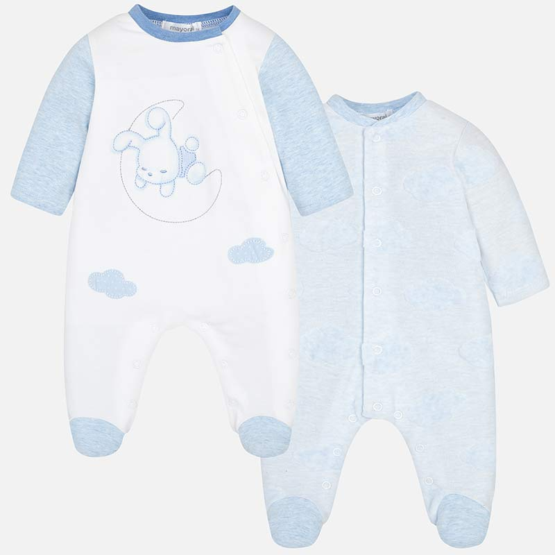 c29330830 Set pijamas largos bebé recién nacido Cielo vigoré - Mayoral