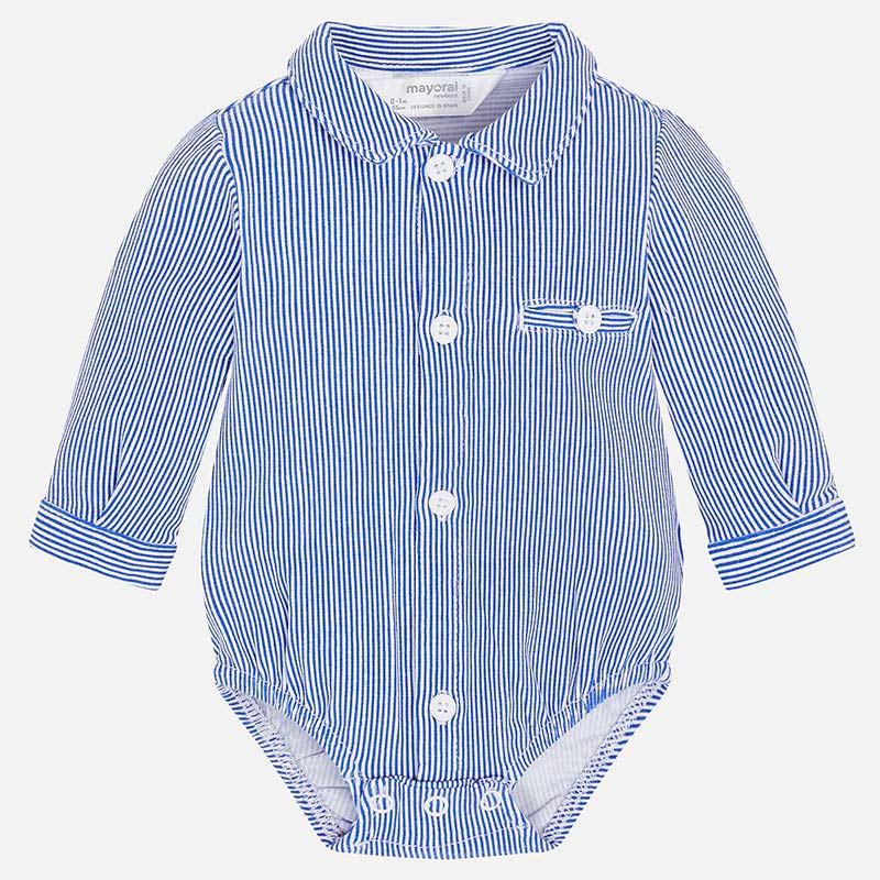 b80273da74b6 Body camisa manga comprida bebé recém nascido Royal - Mayoral