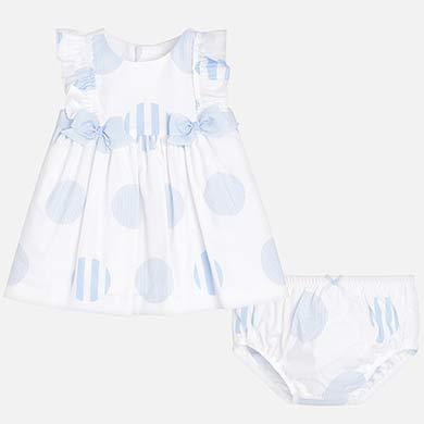 Vestito pois stampato neonata 1caf9534de4