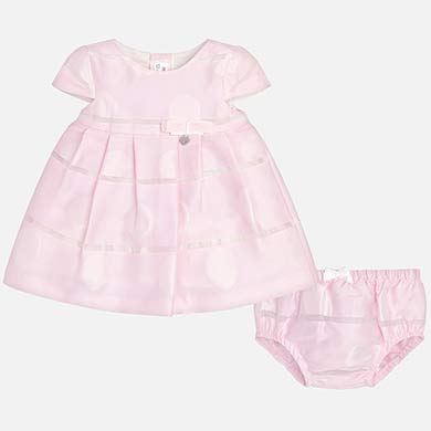 92312a05aed7 Ruffled cardigan for newborn girl Pink - Mayoral