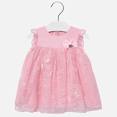 a9eda770fb Φόρεμα δαντέλα baby κορίτσι Ροζ - Mayoral