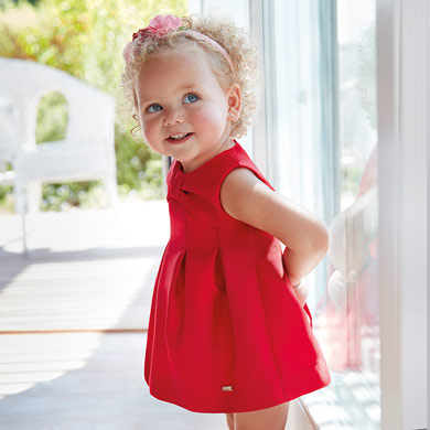 841d476524d Vestidos para bebé niña - Mayoral