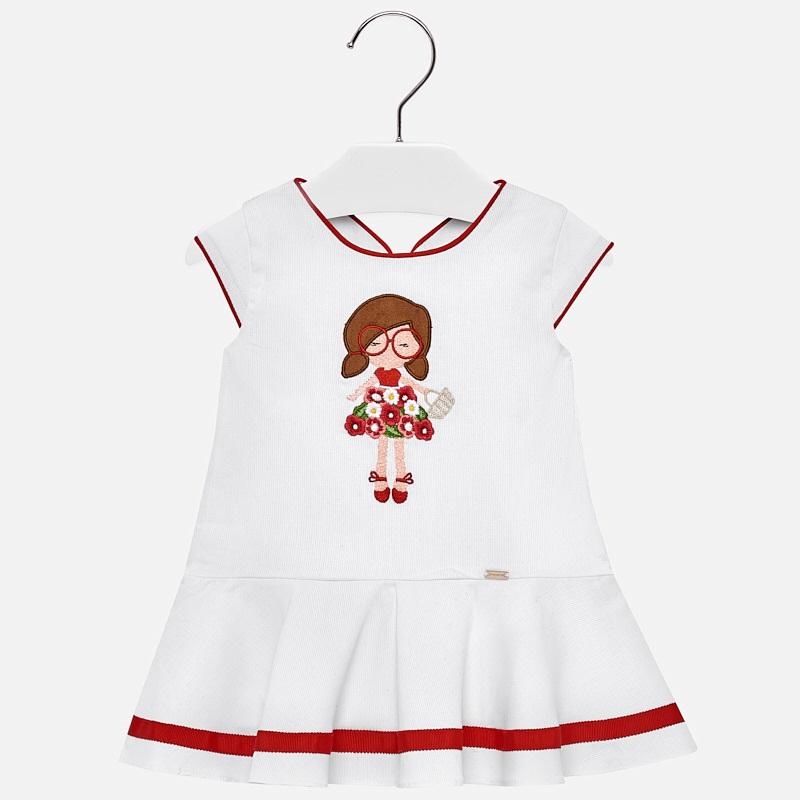 0bd71800f37 Φόρεμα κέντημα baby κορίτσι Κόκκινο - Mayoral