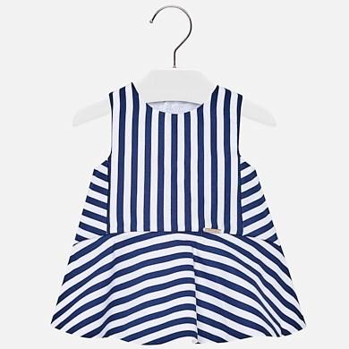 af1d93c21 Vestido rayas lazo espalda bebé niña