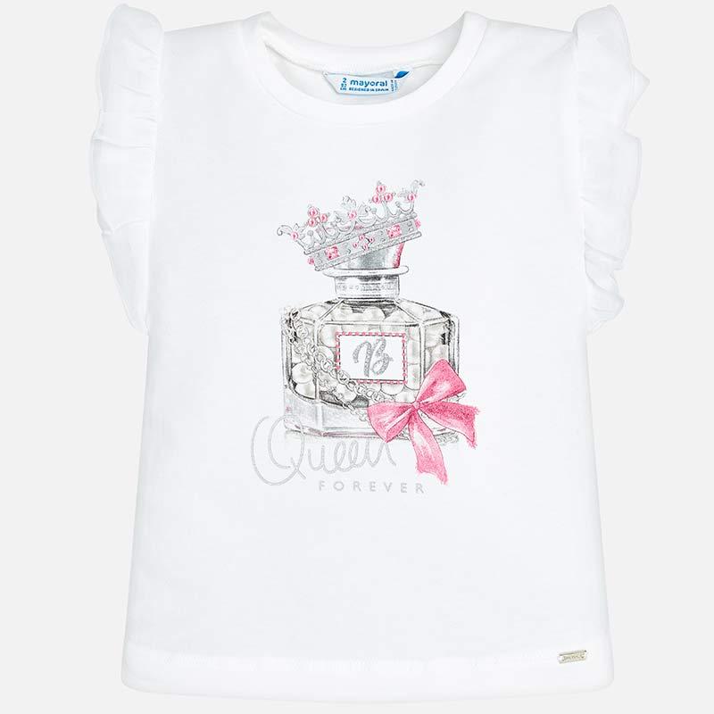 Μπλούζα κοντομάνικη άρωμα κορίτσι Τσίχλα - Mayoral 9e9d6f7e3a2