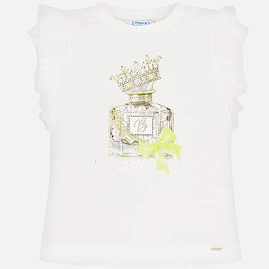 89122bc1c Camiseta manga corta perfume niña