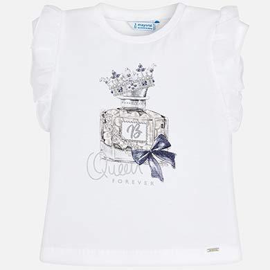5d566b7d8 Camiseta manga corta perfume niña