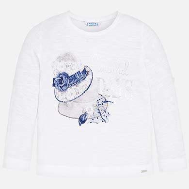 7c72d9d3339 Camiseta manga larga sombreros niña