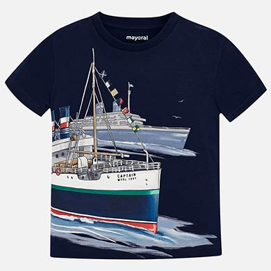 06bd9b24e Camiseta manga corta barcos niño