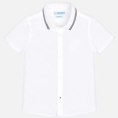 ae5fb1da4 Camisa manga corta lisa niño