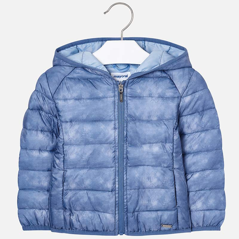 434efe2ec1f Padded jacket for girl Indigo - Mayoral