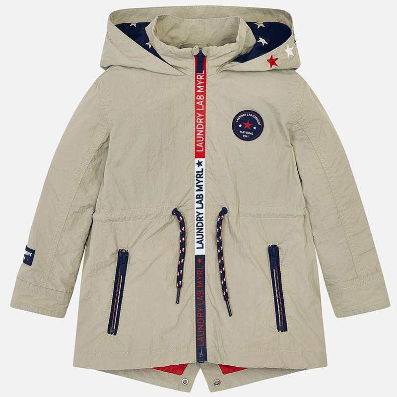 f24725921ba Parka for boy Papyrus - Mayoral