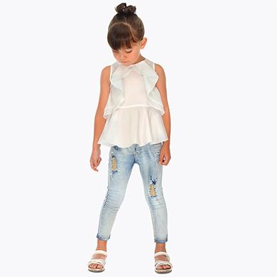 8890fcda9af Ρούχα online: Παιδικά παντελόνια | Κορίτσι | MAYORAL