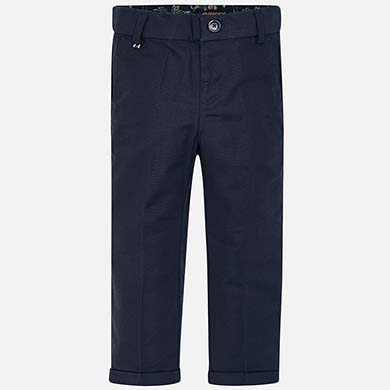 ee069eb585 Pantalón largo de lino traje niño