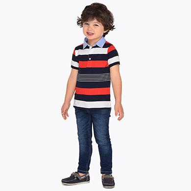 80c01c9016 Pantalón vaquero largo bolsillos slim fit niño