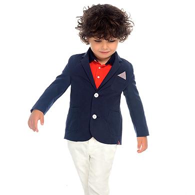 b2d9e90ea8 Pantalón chino largo con cinturón slim fit niño