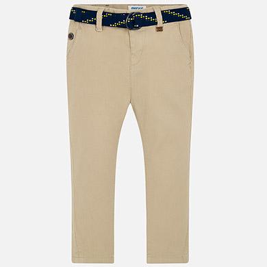 dc15a68c28 Pantalón largo con cinturón niño