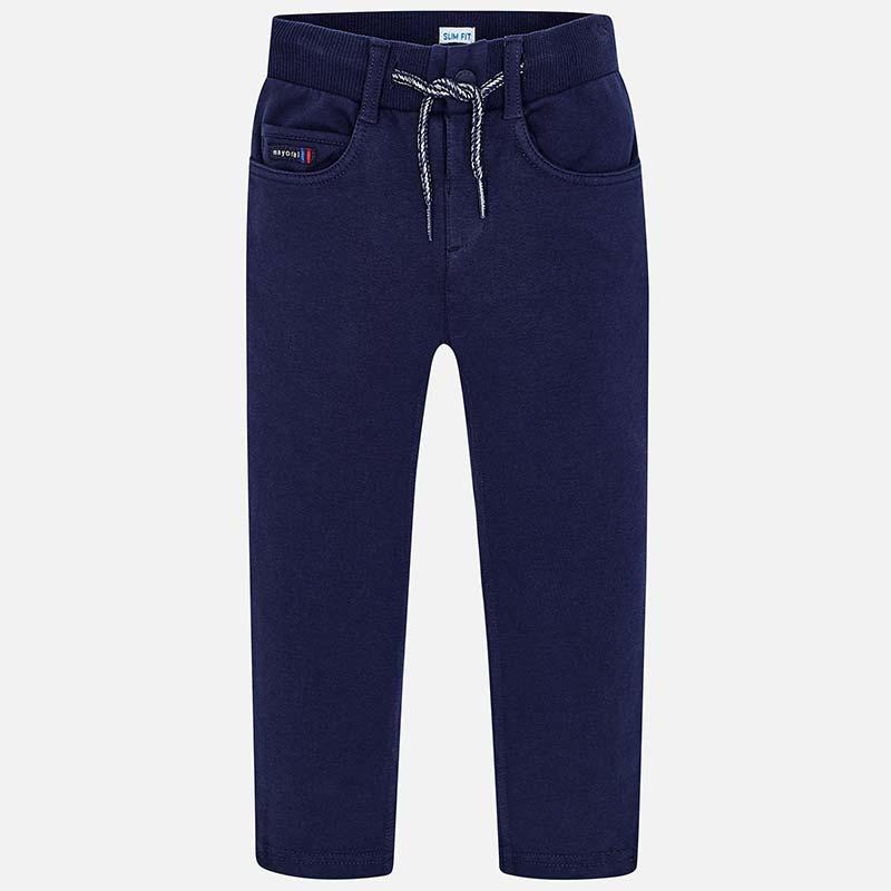 75d1c47035ad Παντελόνι μακρύ φούτερ αγόρι Ναυτικό μπλε - Mayoral