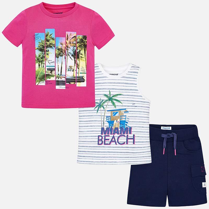 38e991d53d7 Σετ για συνδυασμούς Miami Beach αγόρι Παράδεισος - Mayoral