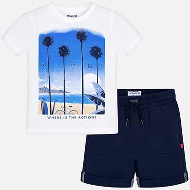 35d0a797bdd Bermuda shorts  Miami  set for boy