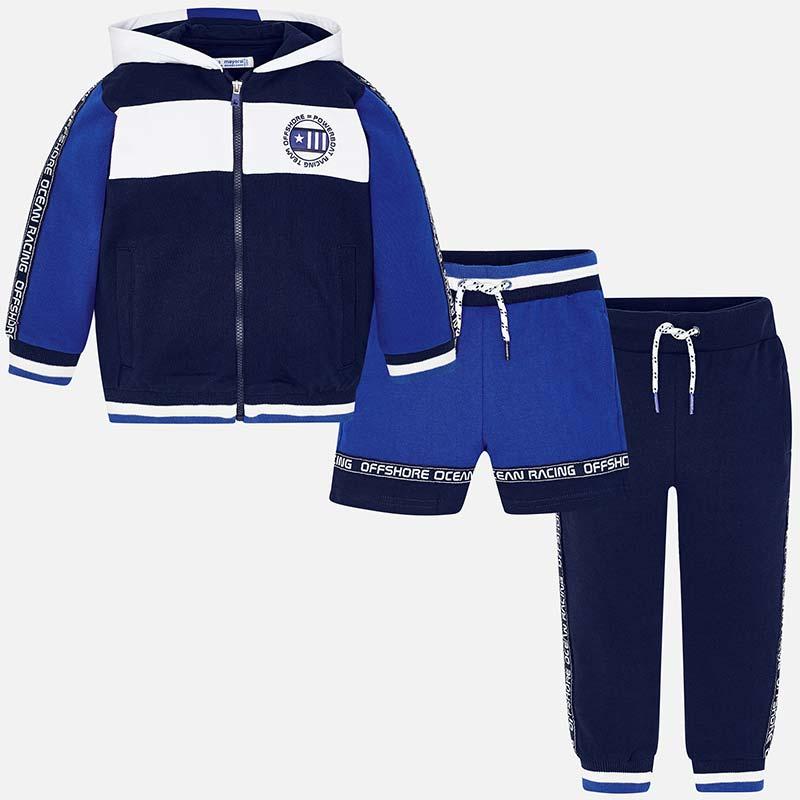 765d81c689f59 Chándal deportivo bloques niño Royal Blue - Mayoral