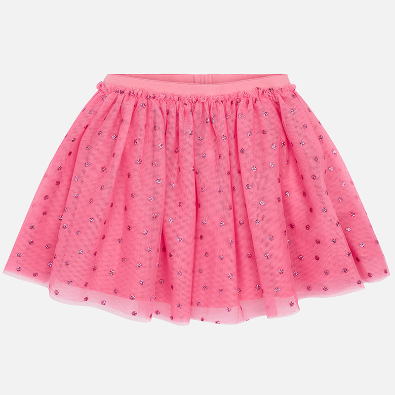 949951bf1 Falda tul lunares glitter niña Chicle - Mayoral