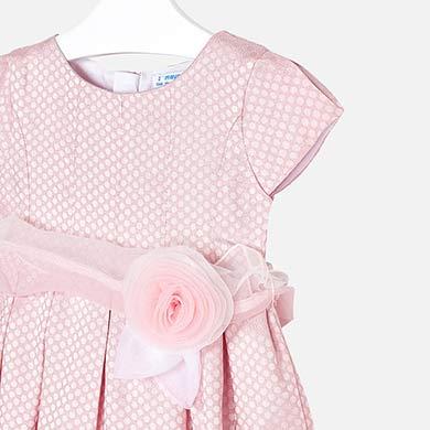3b622e548983 Φόρεμα αμπιγιέ πουά κορίτσι mini κορίτσι Ρουζ - Mayoral