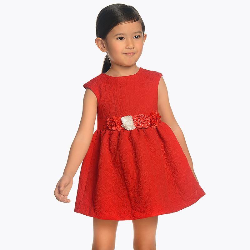 1842f1dadd0 Φόρεμα με ζωνάκι κορίτσι Κόκκινο - Mayoral