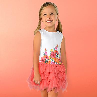 c5953aa78 Vestidos para menina - Mayoral