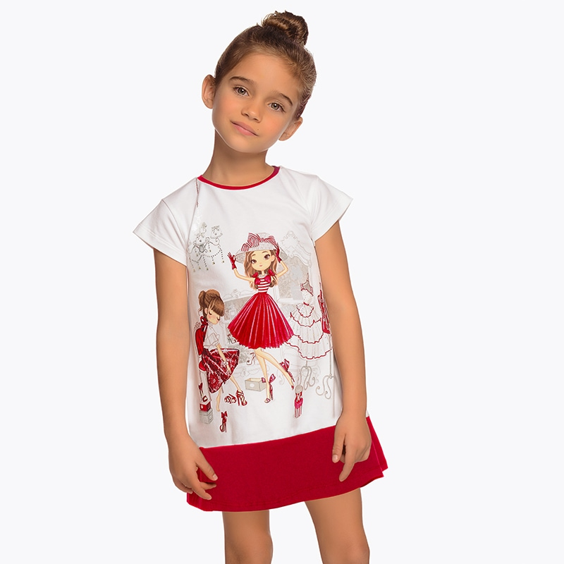 b078b0a83 Vestido muñecas niña Rojo - Mayoral