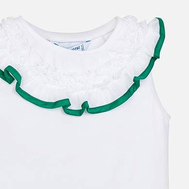 Conjunto falda tablas cenefa niña Verde - Mayoral 1af60c063c03